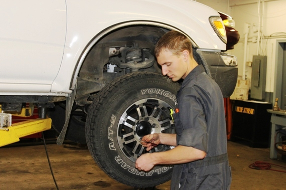 We sell, install, balance and rotate tires