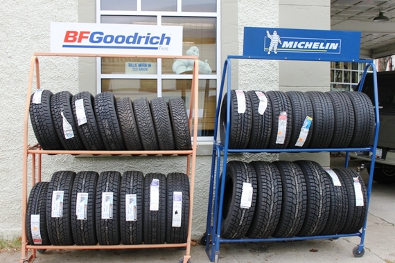 New tire sales and installations