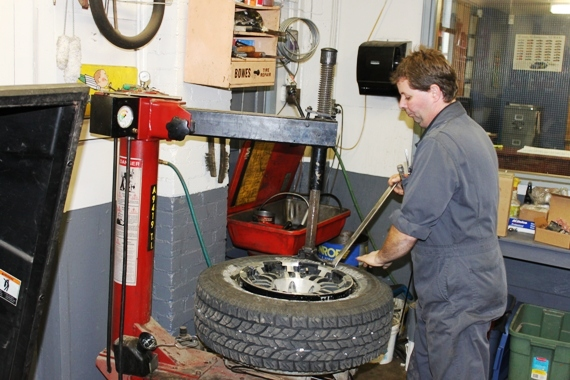 Have us install your winter tires
